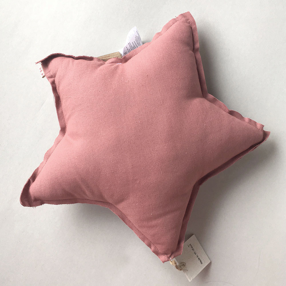 Numero 74 ヌメロ  【S】Star Cushions  星のクッション baobab rose 42×42cm s0422 by イタリア