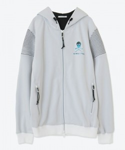 Astro Stretch Zip Hoody / MEN / WHITE / MARK&LOMA / マークアンドロナ