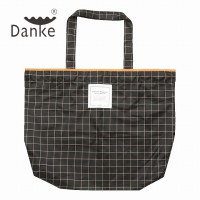 Danke 2017SS RainBag Orange Graph plaid  [倉庫A] (メール便不可)