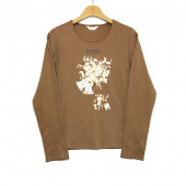 【OUTLET】<50%off>ローエングリンプリントカットソー
