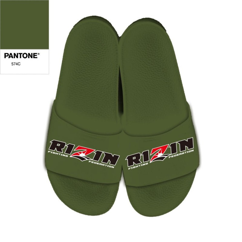 【先行予約販売・数量限定】RIZN Official Shower Sandal DARK GREEN